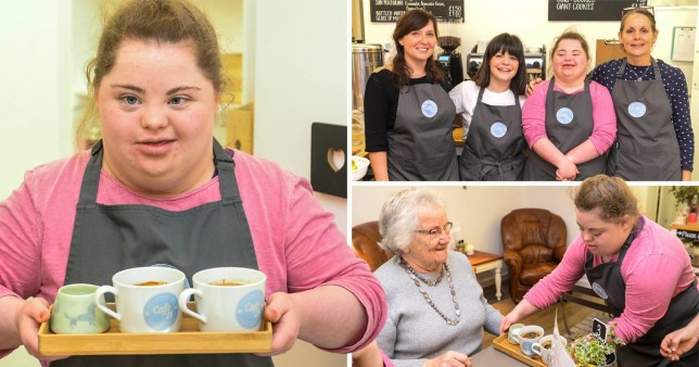 CAFE LAUNCH - New cafe staffed by people with Down Syndrome launched following successful trial