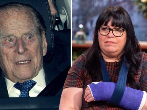 Mum injured in Prince Philip crash 'needs surgery to fix broken wrist'