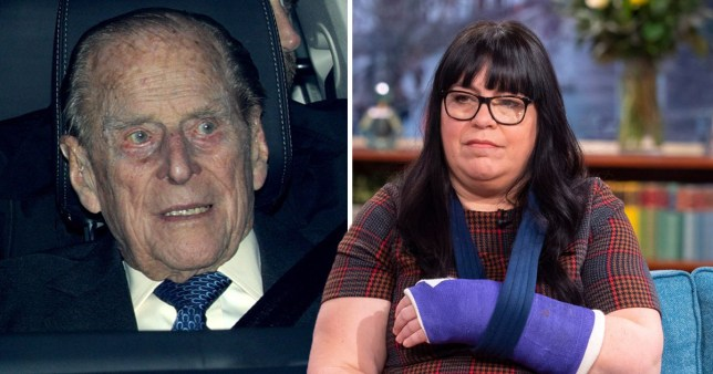 Emma Fairweather, who criticised Prince Philip after his car crash in January, has been banned from driving