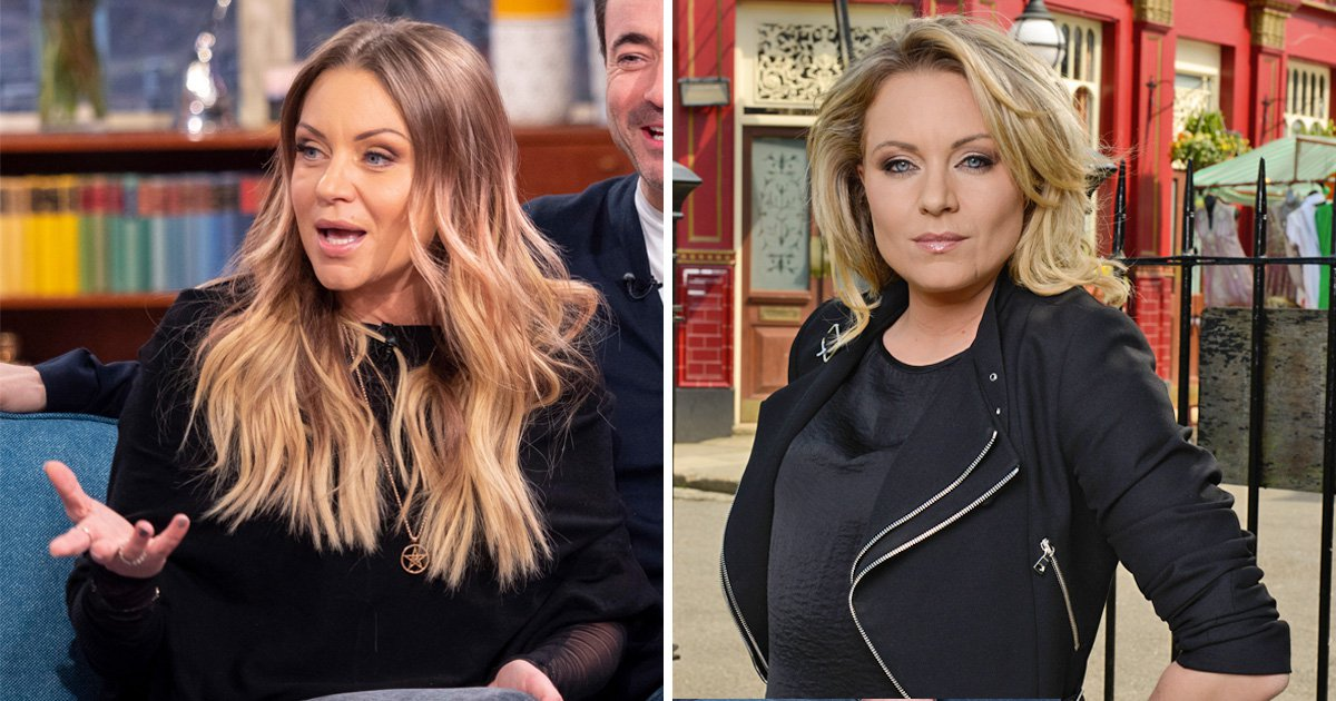 EastEnders' Rita Simons announces life's been 'amazing' since tragic Roxy Mitchell death