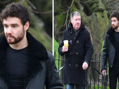 Liam Payne appears tired on a winter stroll after Naomi Campbell dating rumour