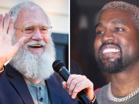 Kanye West talks to David Letterman about male mental health for Netflix show