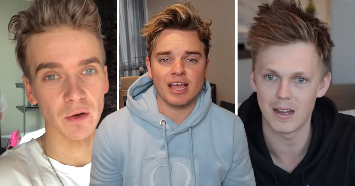 Joe Sugg, Caspar Lee and Jack Maynard open up about mental health and body image in honest video with Mikey Pearce