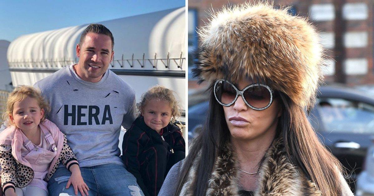 Kieran Hayler claims Katie Price calls him a 'd***head' in front of their children