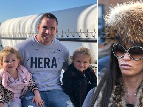 Kieran Hayler shares sweet snap with kids as Katie Price divorce rumbles on: 'There are moments of craziness in life'
