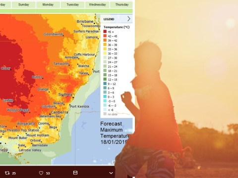 Aussies warned it's 'hotter than hell' as heatwave continues to fry country