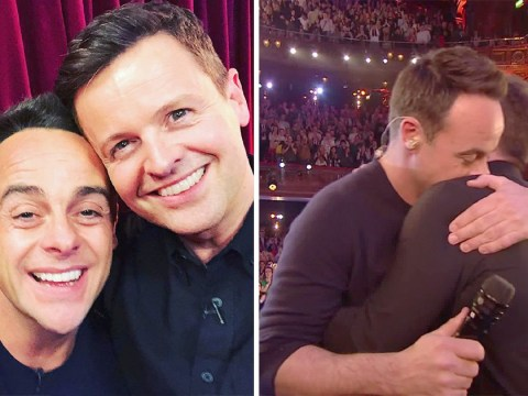 Ant and Dec in 'genuine shock' as they win TV Presenter at National Television Awards for 18th year in a row