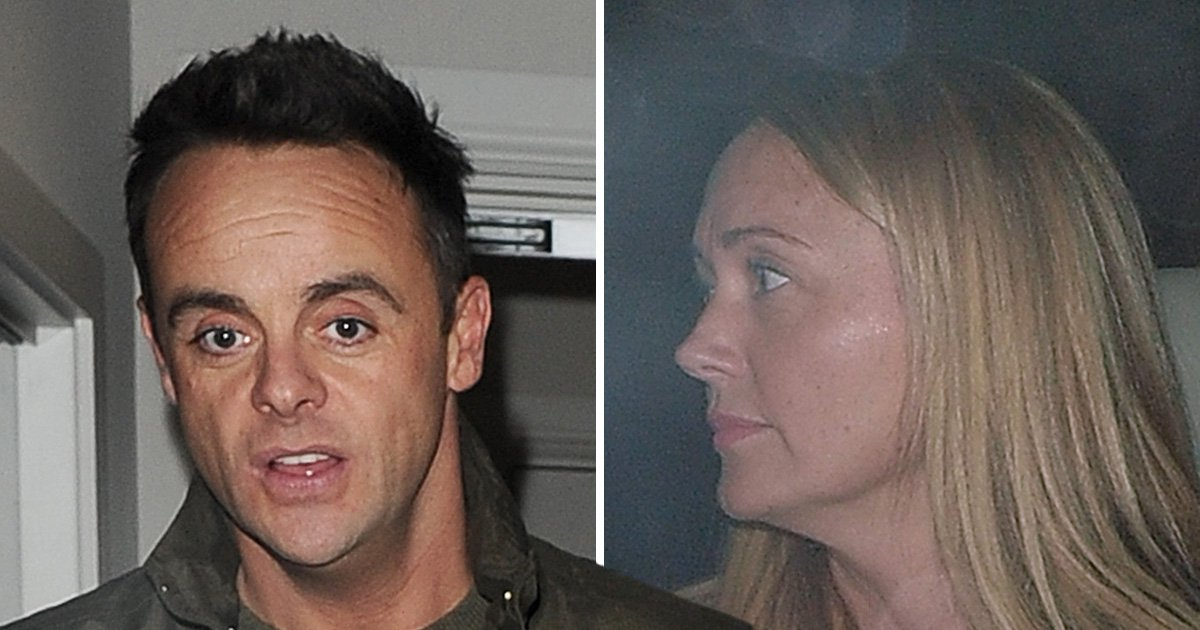 Ant McPartlin supported by girlfriend Anne-Marie Corbett at Britain's Got Talent after emotional NTA win