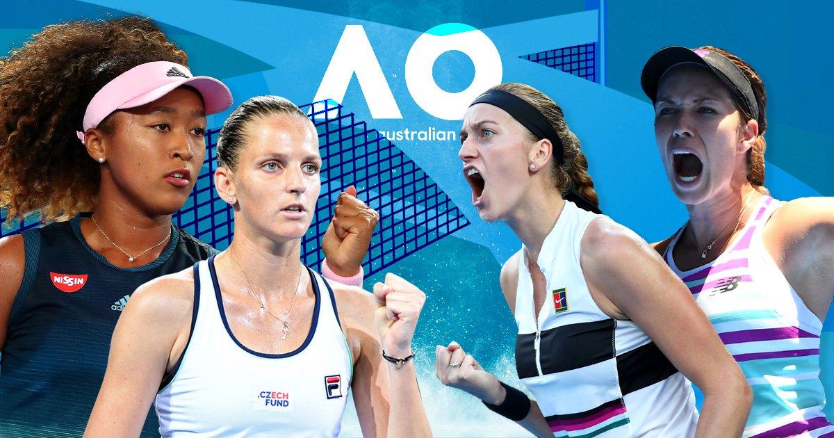 Australian Open semi-finals preview and predictions: Osaka v Pliskova & Kvitova v Collins