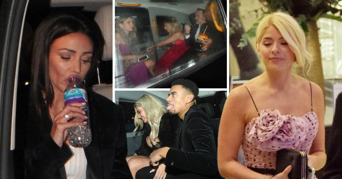 Burgers in hand and sipping water, celebrities head home after wild NTAs after-parties