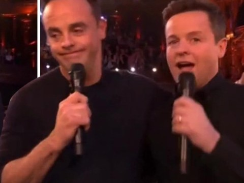 Ant McPartlin causes confusion with new tattoo as he wins controversial NTA
