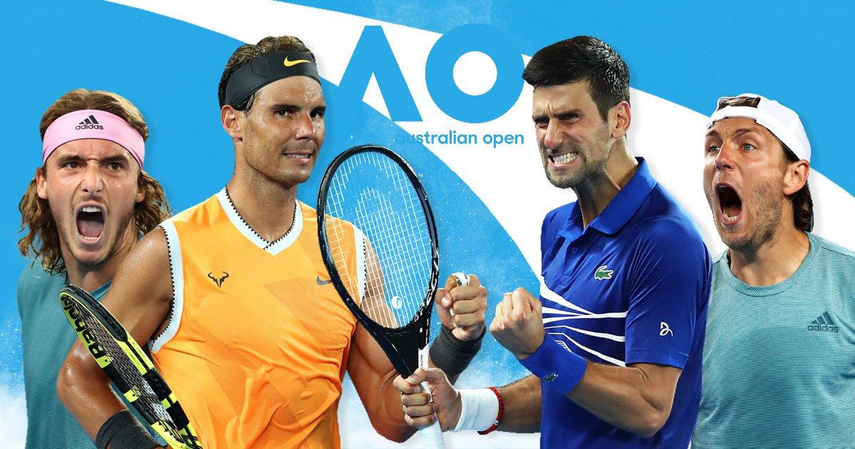 Australian Open semi-finals preview and predictions: Nadal v Tsitsipas & Djokovic v Pouille