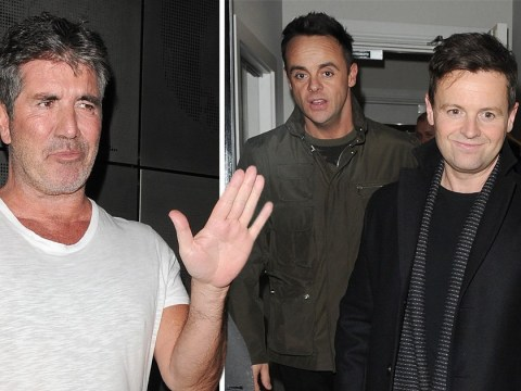 Ant and Dec all smiles as they leave Britain's Got Talent filming after skipping NTAs