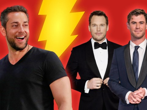 Zachary Levi worried he would be overlooked for Shazam because he's 'not Chris Hemsworth'
