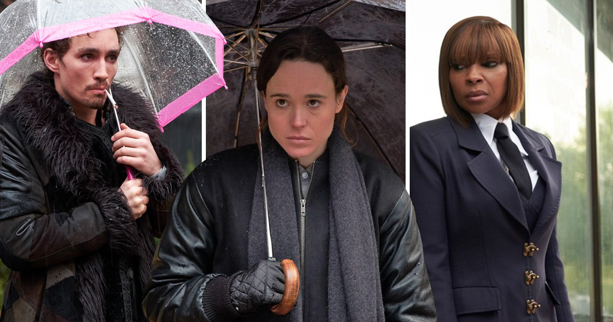 The Umbrella Academy are here to slay as Ellen Page and Mary J Blige go to war in exclusive trailer first look