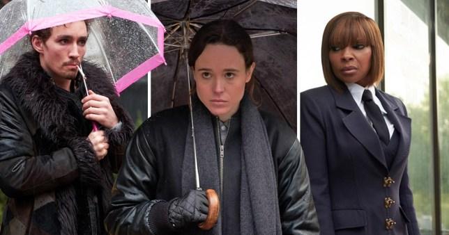 The Umbrella Academy trailer exclusive