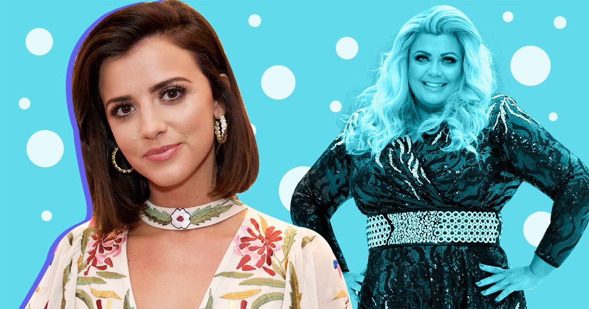 Lucy Mecklenburgh sympathises with 'vulnerable' Gemma Collins amid Dancing On Ice drama
