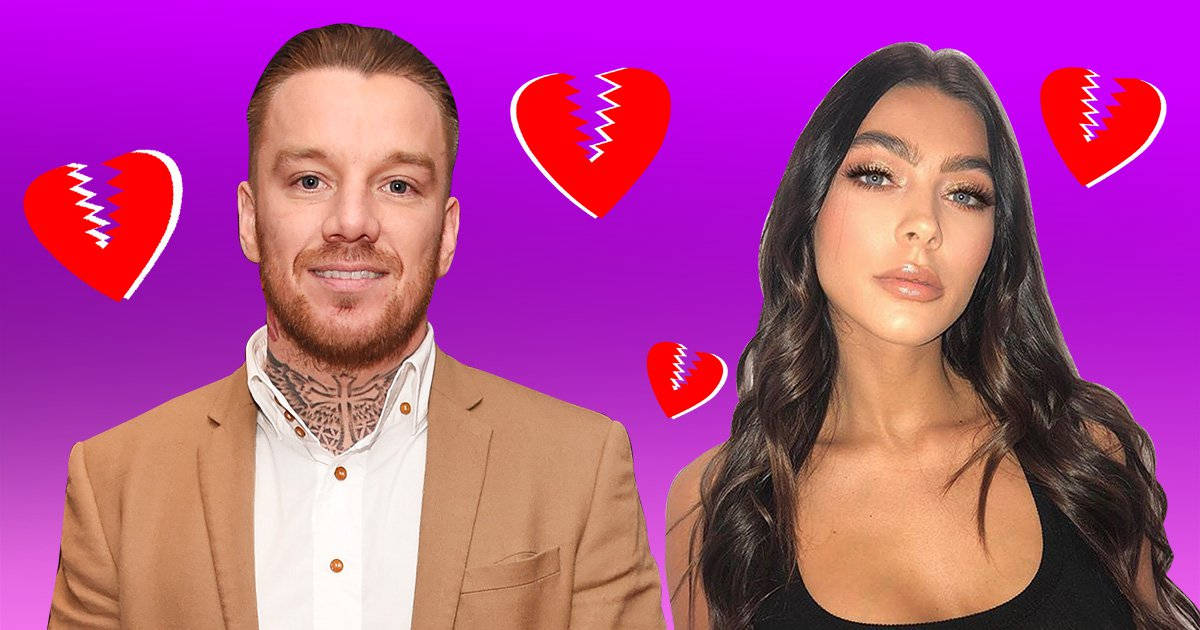 Jamie O'Hara 'splits from fiance' after posting cryptic messages about 'fake' people who 'tear you down'