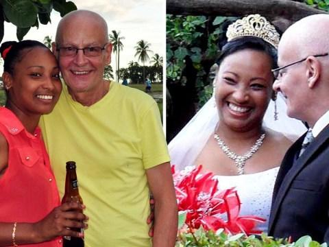 British pensioner marries woman he met on holiday despite 36 year age gap