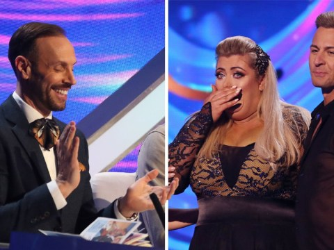 Dancing On Ice's Jason Gardiner praises Gemma Collins for 'dropping the GC' after she suffers dramatic fall