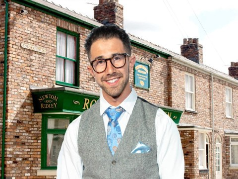 Grey's Anatomy star Luca Malacrino joins Coronation Street as fiery new hairdresser Andrea