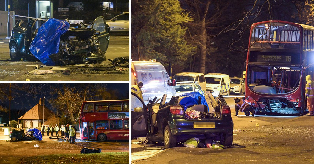 Driver suffers 'life changing injuries' in crash with double-decker bus