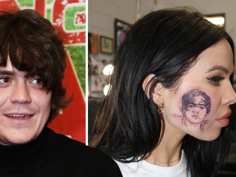 Kelsy Karter's 'Harry Styles tattoo' actually looks more like Frankie Cocozza and he's thanking her for the support