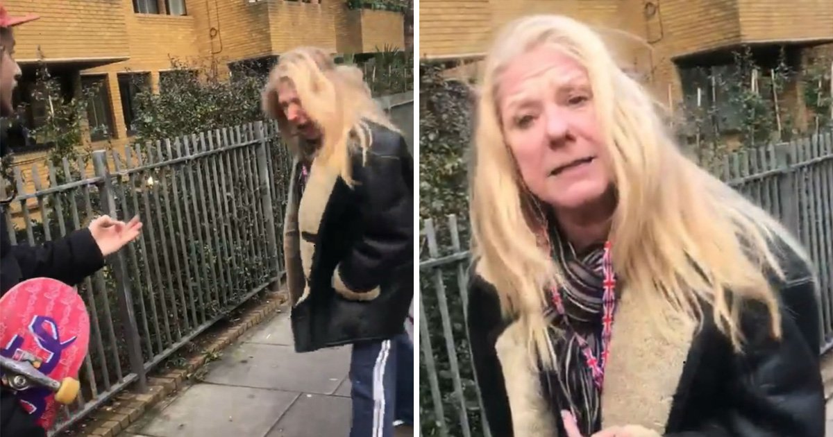 Woman shouts at Brazilian tourists to 'speak English in this street'