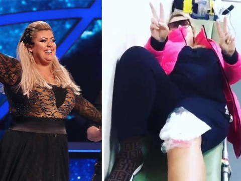 Gemma Collins confirms Dancing On Ice return after horror fall – as she shows off injuries