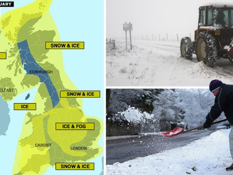 Met Office forecast warns of freezing fog, ice and snow after coldest night of winter