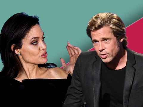 Angelina Jolie and Brad Pitt pictured together for first time in two years