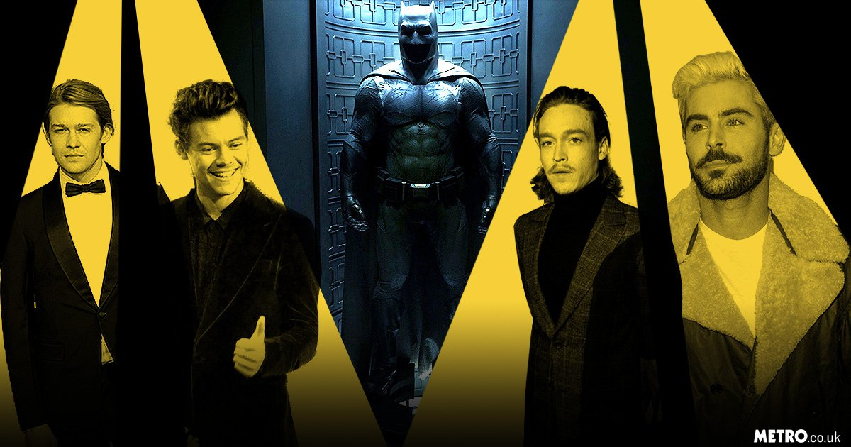 From Zac Efron to Harry Styles, seven actors who could take on Batman