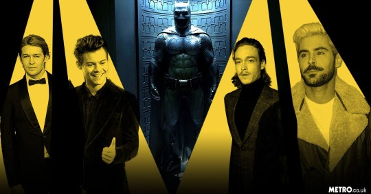 a photo compilation of batman cast suggestions