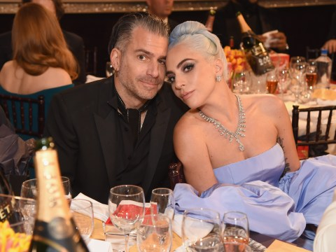 Who is Lady Gaga's fiance Christian Carino, what is his job and how long have they been dating?