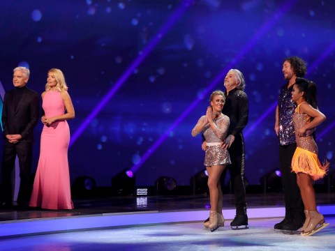 Who left Dancing On Ice last night as the first celebrity exited the series?