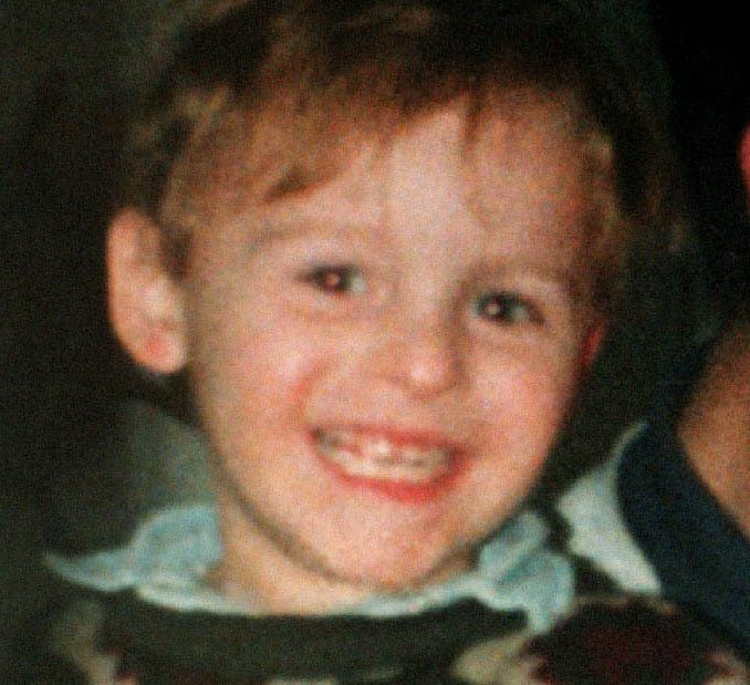 James Bulger the 2 year old boy who went missing in the Bootle area of Liverpool. 2/2/01 Proceedings which could decide the release of the killers of toddler James were getting under way in private. * Lawyers for Robert Thompson and Jon Venables, both 18, were presenting their arguments before a parole board hearing, held at a secret location believed to be somewhere in London, for the first time. The killers were not at the preliminary hearing but were being informed of its outcome at the separate secure accommodation centres in northern England where they have been since their convictions for James' murder in 1993. The three-strong parole board panel was today listening to legal arguments, examining reports and dossiers and discussing which witnesses are required for the full hearing. * 3/12/93 3 youths being questioned. 4/5/93 Two 10yr olds pleaded not guilty to the abduction and murder of James. 31/10/93 Boys go on trial 24/11/93 Court verdict 25/5/94 12/6/97 Home Secretary Michael Howard to increase the sentence to 15 years Undated library filer of murdered toddler James Bulger, from Liverpool. 30/07/1996 - James Bulgers killers Jon Venables and Robert Thompson were sentenced to indefinite life sentences. 12/06/97: The House of Lords is due to rule on whether former Home Secretary Michael Howard was right to increase the sentences of the two boys convicted of James' murder from eight to fifteen years. 06/03/98: Lawyers for Robert Thompson and Jon Venables, the two boys convicted of murdering James, are taking their case to the European Commission of Human Rights, claiming they were not given a fair trial. 16/12/1999 - Thw European Court of Human Rights rules that Jon Venables and Robert Thompson were given an unfair trial. Judges ruled that the environment of an adult court and the intense publicity surrounding the trial prejudiced the hearing and breached human rights 12/3/00 British shadow home secretary Ann Widdecombe reacted with 'great disappointment' to news that killers of toddler James Bulger could be freed in three years. She said the Bulger family would be 'devastated' by moves to release Robert Thompson and Jon Venables so soon after the 1993 murder of the two-year-old on a Liverpool railway line. The Home Office has refused to comment on reports that Home Secretary Jack Straw will this week announce he will stand by the minimum 10-year sentences set by the Lord Chief Justice. 8/1/2001: Family Division President Dame Elizabeth Butler-Sloss ruled that the boys identities and whereabouts must be kept confidential for the rest of their lives. 20/6/01: The Parole Board was beginning its deliberations on the second schoolboy killer of toddler James Bulger. Robert Thompson, now 18, was due to attend the meeting at a secret location after the panel completed its examination of his partner in the February 1993 murder, Jon Venables. Both could be freed within days if the panel decides they are no longer a risk to the public. 20/06/01 The Parole Board was, beginning its deliberations on the second schoolboy killer of toddler James Bulger. Robert Thompson, now 18, was due to attend the meeting at a secret location after the panel completed its examination of his partner in the February 1993 murder, Jon Venables. Both could be freed within days if the panel decides they are no longer a risk to the public. The pair were just 10 when they abducted two-year-old James from the Strand shopping precinct in Bootle, Merseyside, before torturing him and battering him to death on a railway line. *07/08/2001....Undated handout family collect photo of murdered boy James Bulger. A controversial comedy centered on a teenager who abducts and kills a child was, taking to the stage at the Edinburgh Festival Fringe. The Age of Consent has faced a barrage of criticism by some people who say the story is too similar to that of James Bulger. The play by award-winning writer Peter Morris tells the story of a toddler's murder through the eyes of teenage killer Timmy. 12/2/03: Thousands of Merseysiders were expected to observe a one-minute silence, to mark the tenth anniversary of the murder of toddler James Bulger. The Liverpool Town Hall flag was being flown at half-mast in memory of the two-year-old Kirkby boy whose battered body was found on an isolated railway line.