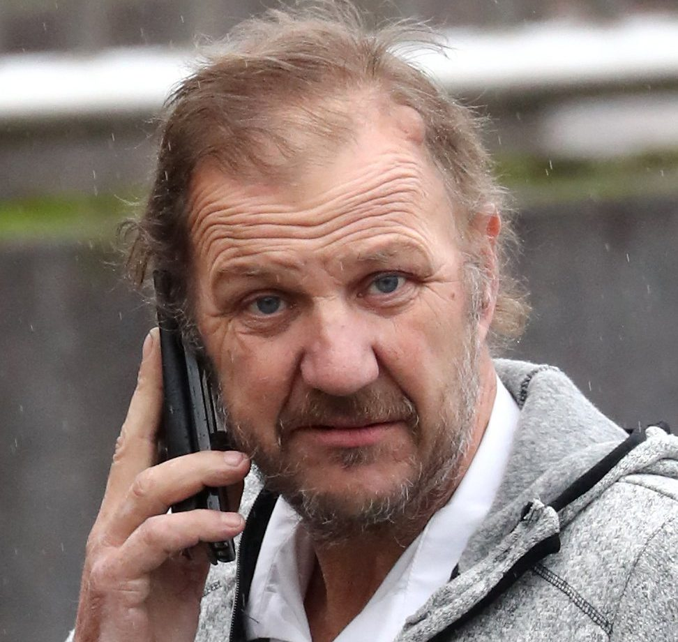 RETRANSMISSION CORRECTING DATE Ray Weatherall arrives at Maidstone Crown Court in Maidstone, Kent where his wife, Hayley Weatherall, is due to be sentenced for conspiracy to murder after trying and failing to kill him with the help of two others, Glenn Pollard and his daughter Heather Pollard. PRESS ASSOCIATION Photo. Picture date: Tuesday November 20, 2018. See PA story COURTS Weatherall. Photo credit should read: Gareth Fuller/PA Wire
