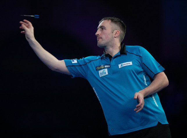 Matthew Edgar during his match against Darius Labanauskas during day four of the William Hill World Darts Championships at Alexandra Palace, London. PRESS ASSOCIATION Photo. Picture date: Sunday December 16, 2018. Photo credit should read: Ian Walton/PA Wire