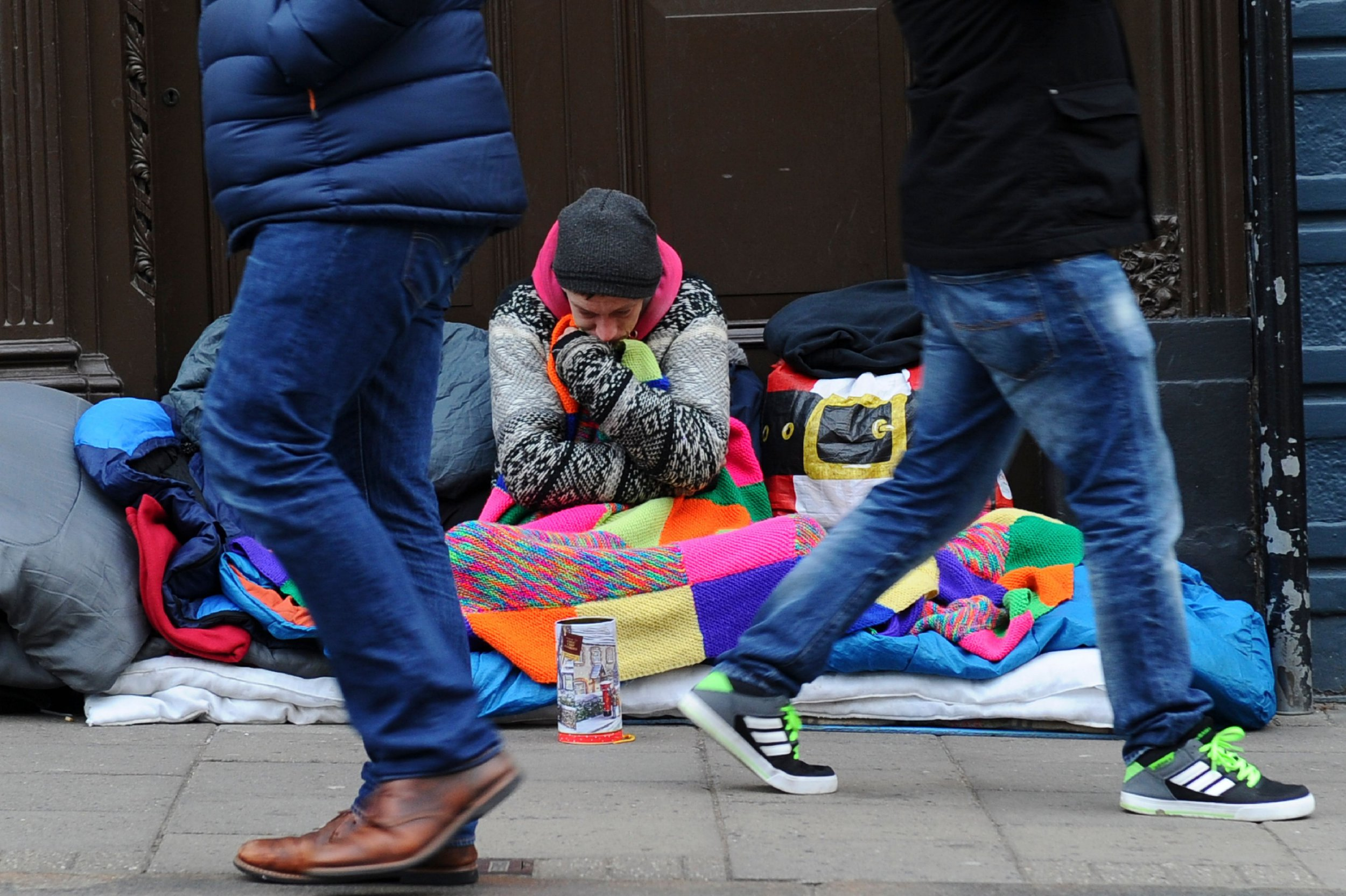There's been a 165% increase in homelessness since the Tories took power