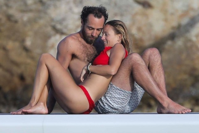 James Middleton and Alizee Thevenet CROP_BGUK_1446240 - ** RIGHTS: ONLY UNITED KINGDOM ** Saint Barts, FRANCE - Has James finally settled down? Kate's younger brother James Middleton looks besotted with his new girlfriend as she joins him on a family holiday with good friends Spencer Matthews and Vogue Williams. BACKGRID UK 2 JANUARY 2019 BYLINE MUST READ: Revolver / BACKGRID UK: +44 208 344 2007 / uksales@backgrid.com USA: +1 310 798 9111 / usasales@backgrid.com *UK Clients - Pictures Containing Children Please Pixelate Face Prior To Publication*
