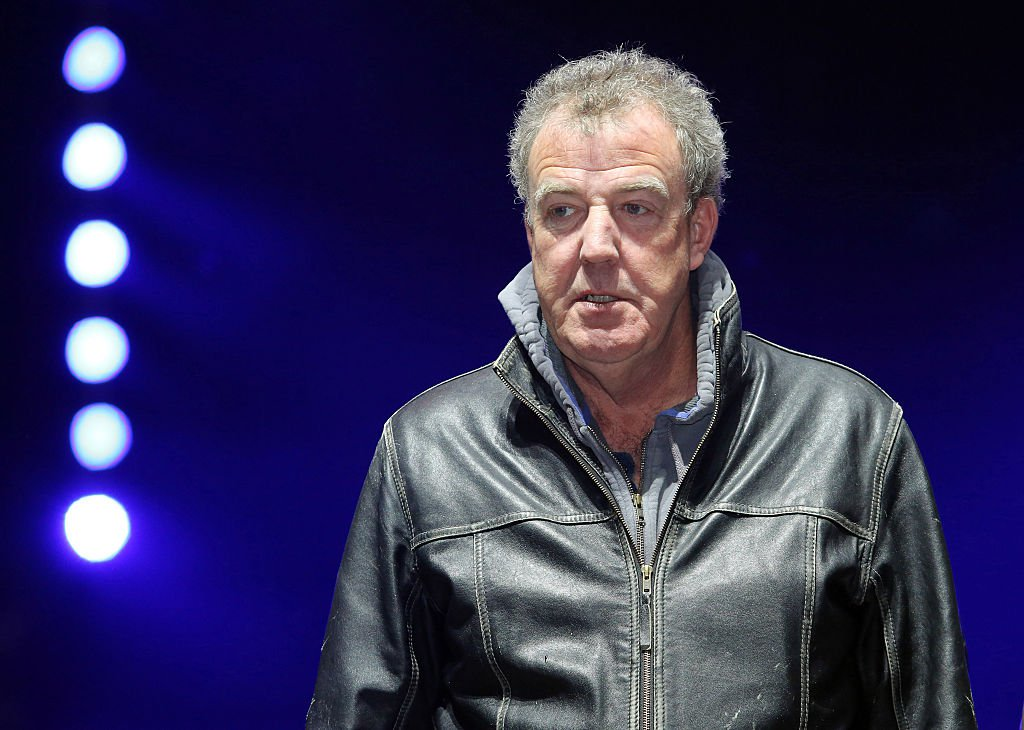 British TV anchor of Top Gear Jeremy Clarkson during the rehearsal of the car show Top Gear Live, in St Petersburg, Russia, on March 29, 2014. British TV program Top Gear Jeremy Clarkson during a rehearsal for the show Top Gear Live. (?? Andrey Pronin) (Photo by Andrey Pronin/NurPhoto/Corbis via Getty Images)