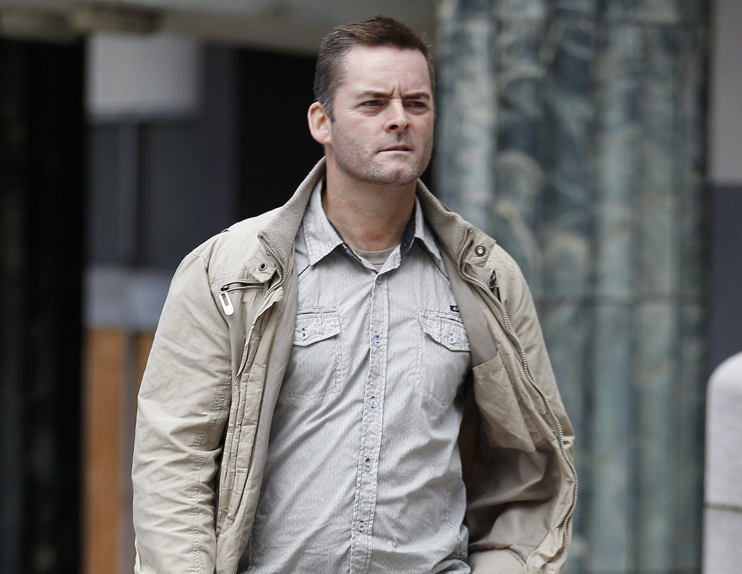 Ralph Bulger the father of James Bulger arrives at Liverpool Crown Court, Liverpool.