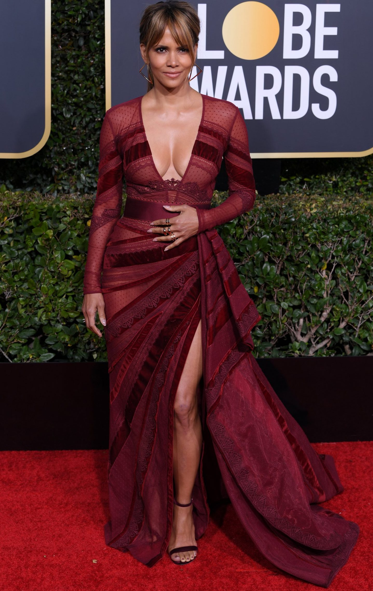 Halle Berry won The Golden Globes. Everybody else, go home