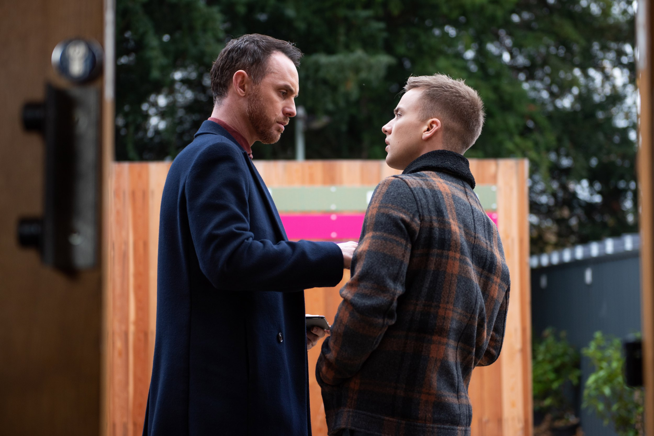 Hollyoaks spoilers: James Nightingale fights to win Harry Thompson back