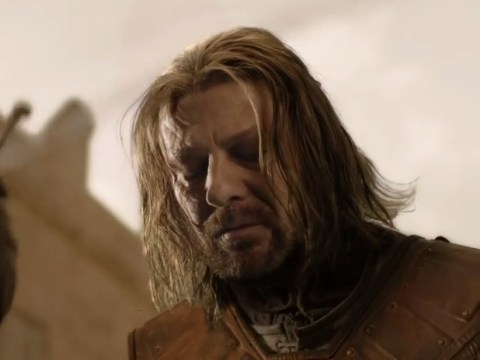 Game Of Thrones was so poor in series 1 Ned Stark was pelted with 'real rocks' during death scene