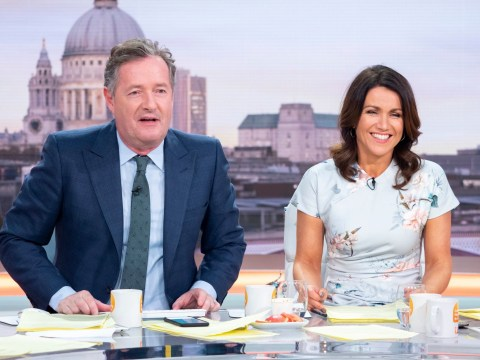 Piers Morgan refuses to go on double dates with Susanna Reid because she 'doesn't drink'