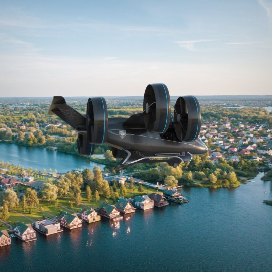 Uber partner will launch flying cars by the 'mid 2020s' Credit: Bell Flight