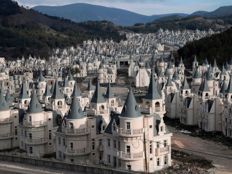 Sprawling estate of 'Disney' houses may not be completed
