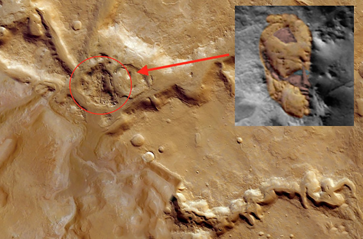 Conspiracy theorist says 'ancient face' on the surface of Mars is proof of lost city