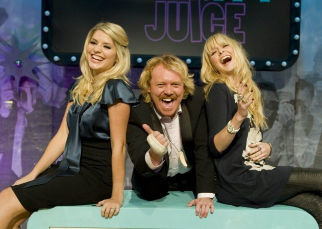 Editorial use only Mandatory Credit: Photo by ITV/REX/Shutterstock (931004kl) 'Celebrity Juice' - Holly Willoughby, Keith Lemon (Keith Lemon) and Fearne Cotton. ITV ARCHIVE